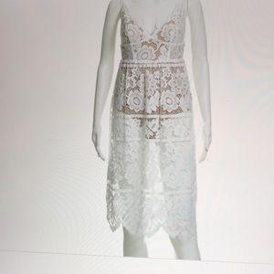 For love & Lemons bodysuit dress nwot